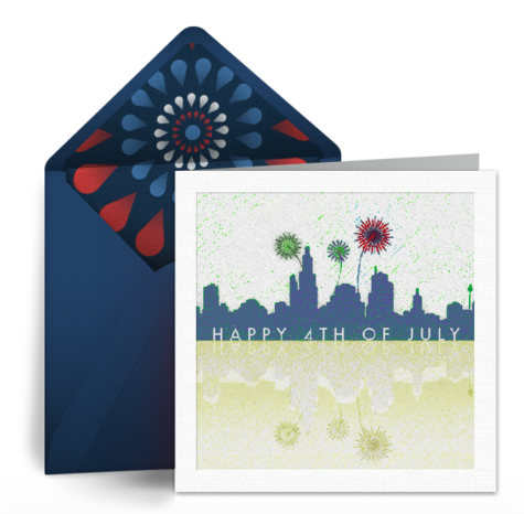 Free eCard for 4th of July by Punchbowl