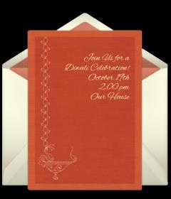 Free diwali online invitations punchbowl diwali stopboris Choice Image