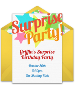Free Birthday Save the Dates Online | Punchbowl