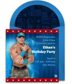 Free WWE Online Invitations Punchbowl