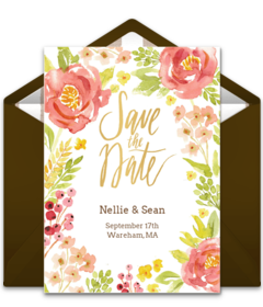 Free save the date evites for weddings
