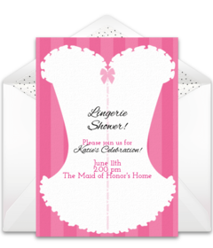 free bachelorette party online invitations  punchbowl, Party invitations