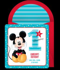 Free Disney Online Invitations